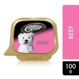 Cesar Beef Wet Dog Food 100g
