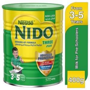 Nestle® Nido® Fortiprotect™ Three Plus Growing Up Milk 3-5 Years 400g