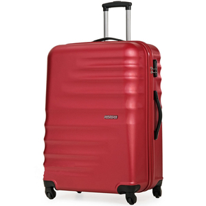 American Tourister Preston 4 Wheel Hard Trolley 67cm Red