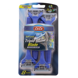Lulu Triple Blade Disposable Razor 8pcs