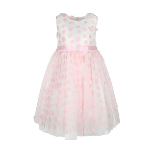 Cortigiani Girls Party Frock Sleeveless GHU12 Pink 2-8Y
