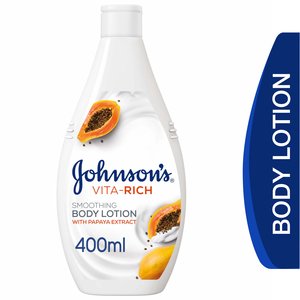 Johnson's Body Lotion Vita-Rich Smoothing 400ml