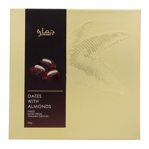 Jomara Dates With Almonds 225g
