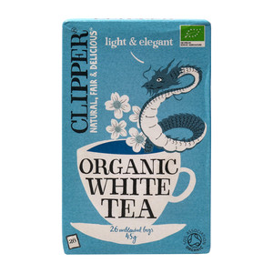 Clipper Organic White Tea Bags Light and Elegant 26pcs 45g