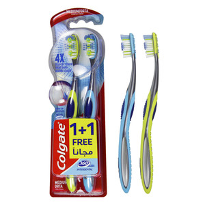 Colgate 360 Interdental Medium Toothbrush 2pcs