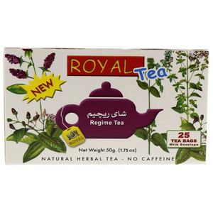 Royal Regime Natural Herbal Tea 25pcs