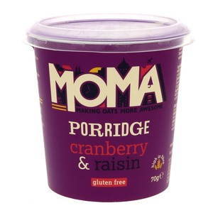 Moma Porridge Oats With Cranberry & Raisin 70g