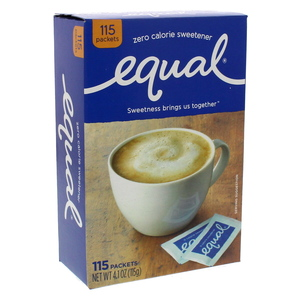 Equal Original Zero Calorie Sweetener 115  Packets