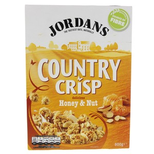 Jordan's Country Crisp With Delicious Honey & Nut 500g