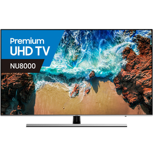 Samsung Premium Ultra HD 4K Smart LED TV UA55NU8000 55inch