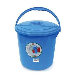 Lulu Bucket With Lid 16Ltr Assorted Colour