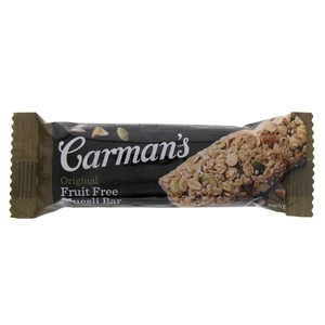 Carman's Original Fruit Free Muesli Bar 45g