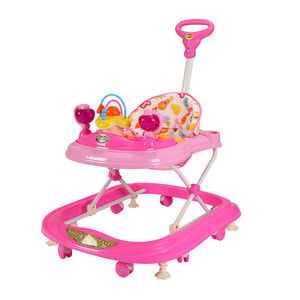 First Step Baby Walker 8027 Pink