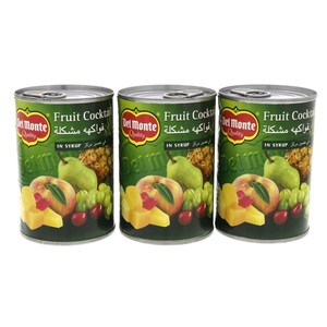Del monte Fruit Cocktails In Syrup 420g x 3pcs