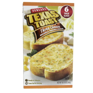 Furlani Texas Three Cheese toast 6 Thick Slices 288g