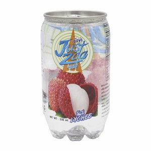 Just Zaa Soda Water Lychee Flavour 330ml