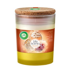 Air Wick Air Freshener Candle Vanilla Bakery Treat 185g