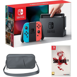 Nintendo Switch Console 32GB+Bag +1 Game Assorted