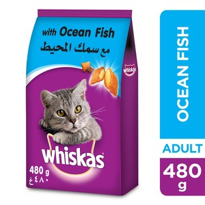 Whiskas® Ocean Fish Dry Food Adult 1+ years 480g