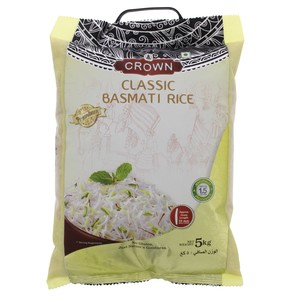 Crown Classic Basmati Rice 5kg