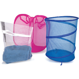 Home Laundry Bag 2pcs + Washing Bag 1pc Assorted