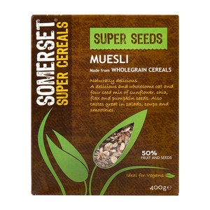 Somerset Super Cereals Super Seeds Muesli 400g
