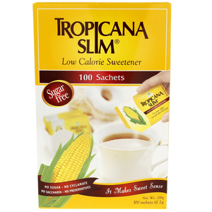 Tropicana Slim Low Calorie Free Sweetener 100 Saches 200 Gm
