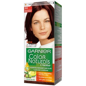 Garnier Color Naturals 3.6 Deepred Brown Hair Color 1 Packet