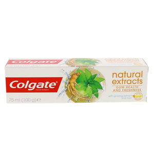 Colgate Toothpaste with Ginseng Extract & Mint 75ml