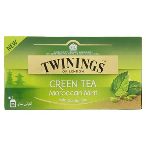 Twinings Morrocan Mint with Cardamom Green Tea 25 Tea Bags