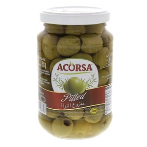 Acorsa Pitted Green Olives 170g
