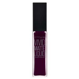Maybelline Color Sensational Vivid Matte Lipstick 45 Possessed Plum 1pc