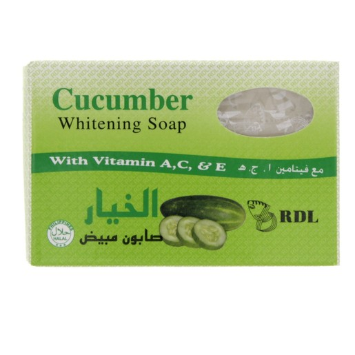 Rdl Cucumber Whitening Soap 135g