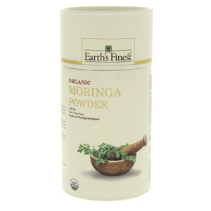 Earth's Finest Organic Moringa Powder 113g