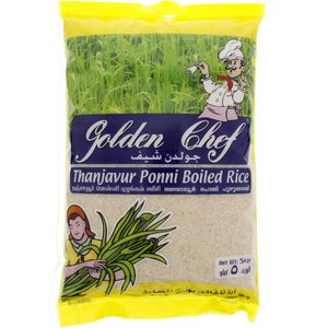 Golden Chef Thanjavur Ponni Boiled Rice 5kg