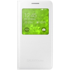 Samsung Alpha S-View Case CG850 White