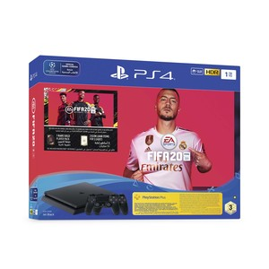 Sony PlayStation 4 Slim 1TB FIFA20 + DS4 Controller Bundle