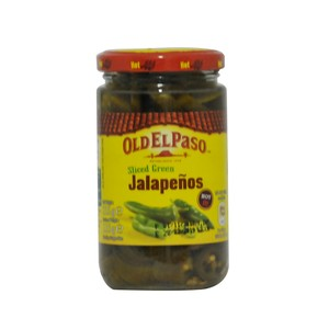 Old El Paso Jalapeños Hot and Tangy 215g