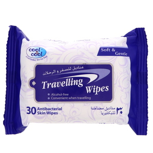 Cool And Cool Travelling Wipe 30's