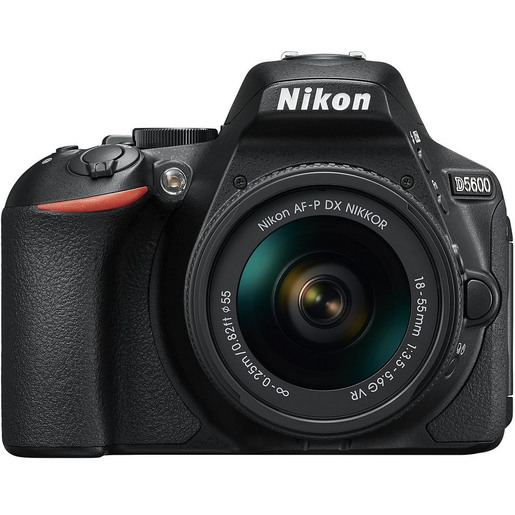 Nikon DSLR Camera D5600 AF-P 18-55mm Lens