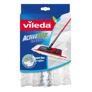 Vileda Active Max Classic Mop Floor Cleaning Mop Refill 1pc