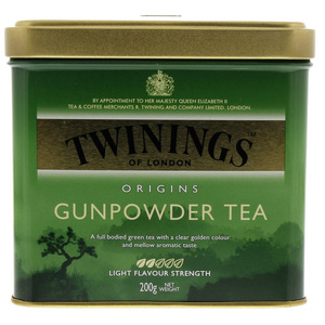 Twinings Gunpowder Tea Tin 200g