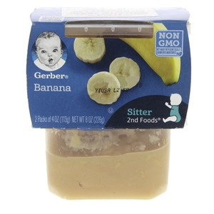 Gerber Banana 2nd foods 226g