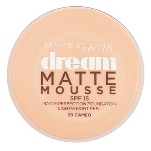 Maybelline New York Dream Matte Mousse Foundation Cameo 20 1pc