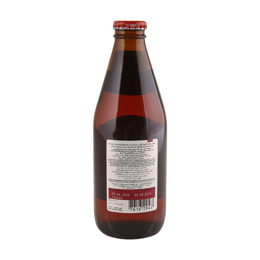 Moussy Raspberry Flavour Non Alcoholic Malt Beverage 6 x 330ml