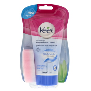 Veet In Shower Hair Removal Cream 150g