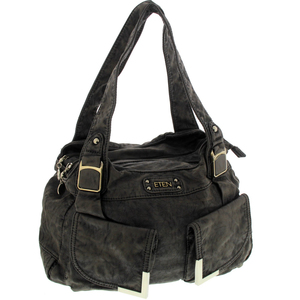 Eten Washed PU Hand Bag for Women 6380