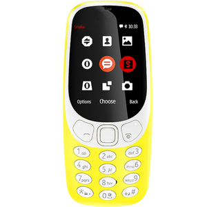 Nokia Featured Phone 3310 Yellow