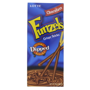 Lotte Funzels Crispy Sticks Chocolate 30g