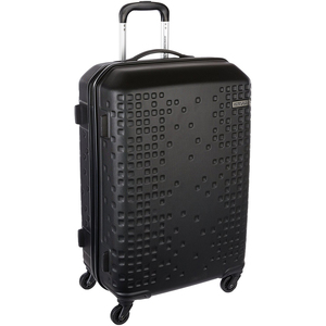 American Tourister Cruze 4 Wheel Hard Trolley 55cm Black